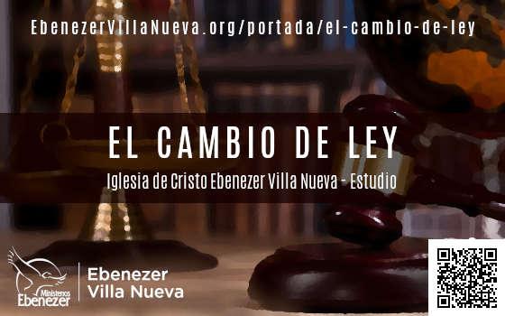 EL CAMBIO DE LEY