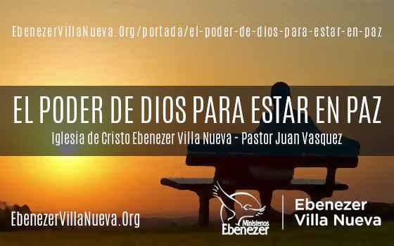 EL PODER DE DIOS PARA ESTAR EN PAZ