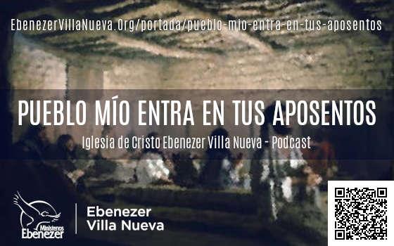 PUEBLO MÍO ENTRA EN TUS APOSENTOS (2)