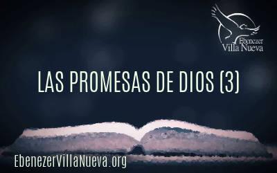 LAS PROMESAS DE DIOS (3)