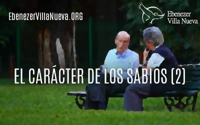 EL CARÁCTER DE LOS SABIOS (2)