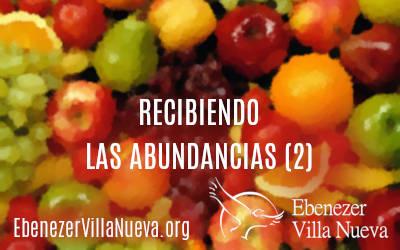 RECIBIENDO LAS ABUNDANCIAS (2)