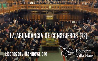 LA ABUNDANCIA DE CONSEJEROS (12)