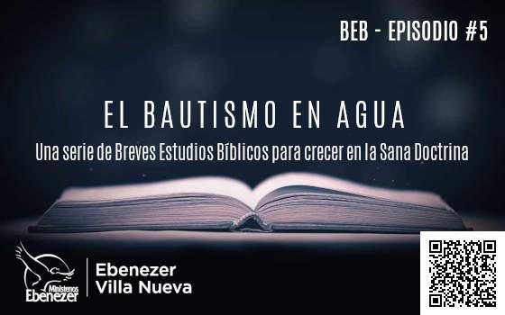 BREVE ESTUDIO BÍBLICO (5)