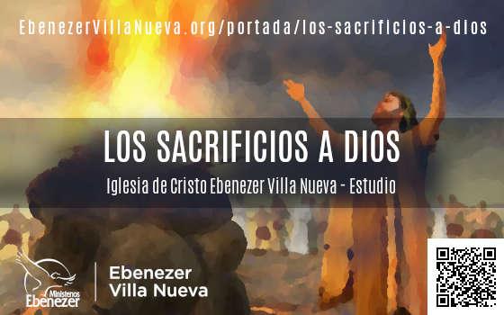 LOS SACRIFICIOS A DIOS