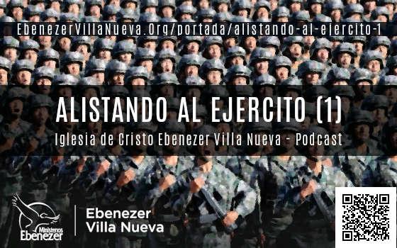 ALISTANDO AL EJERCITO (1)