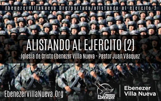 ALISTANDO AL EJERCITO (2)