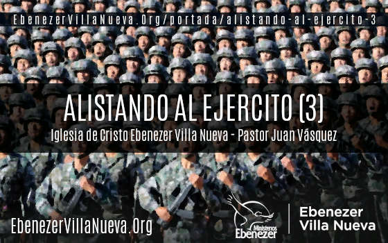 ALISTANDO AL EJERCITO (3)