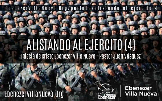 ALISTANDO AL EJERCITO (4)