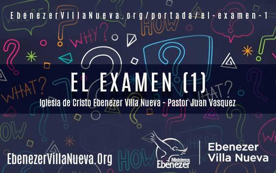 EL EXAMEN (1)