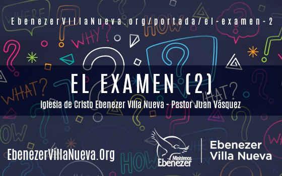 EL EXAMEN (2)