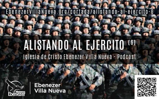 ALISTANDO AL EJERCITO (6)