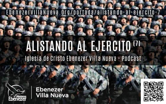 ALISTANDO AL EJERCITO (7)