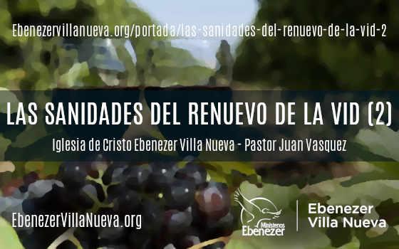 LAS SANIDADES DEL RENUEVO DE LA VID (2)