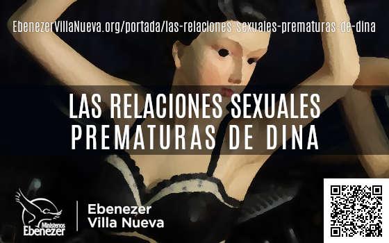 LAS RELACIONES SEXUALES PREMATURAS DE DINA