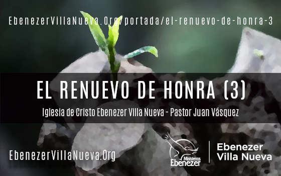 EL RENUEVO DE HONRA (3)